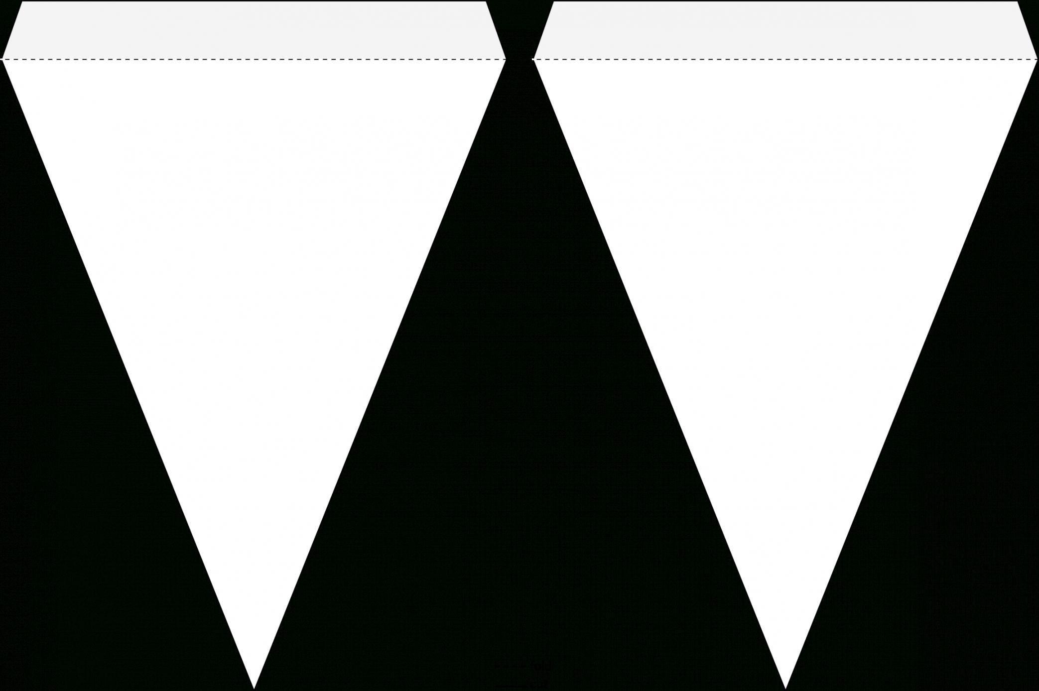 editable pennant banner template  triangle flag banner template triangle flag banner template doc