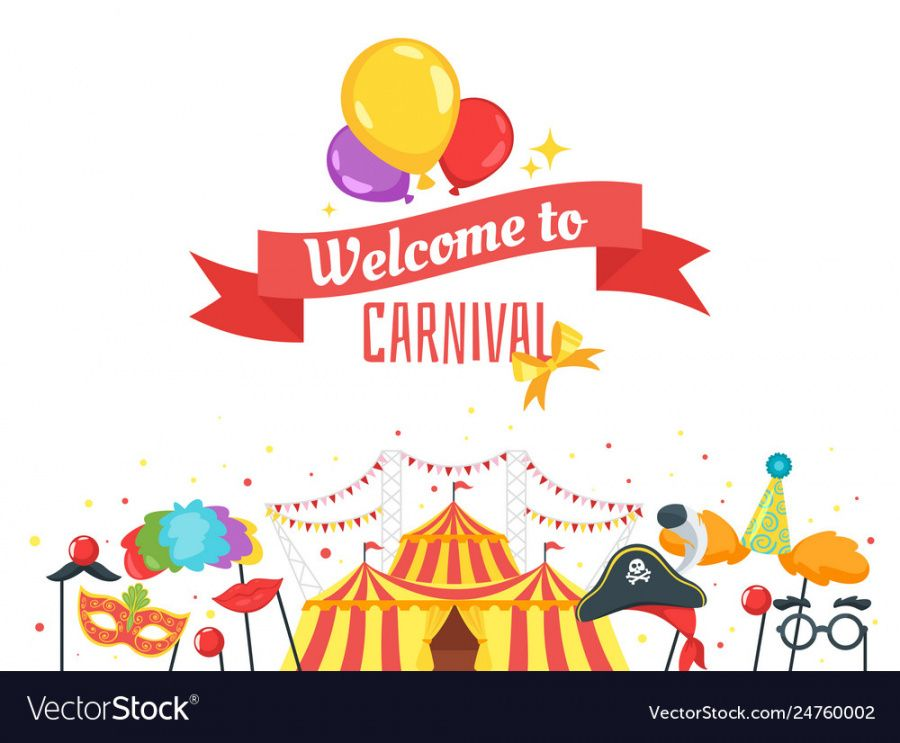 free carnival banner design template royalty free vector image carnival banner template excel