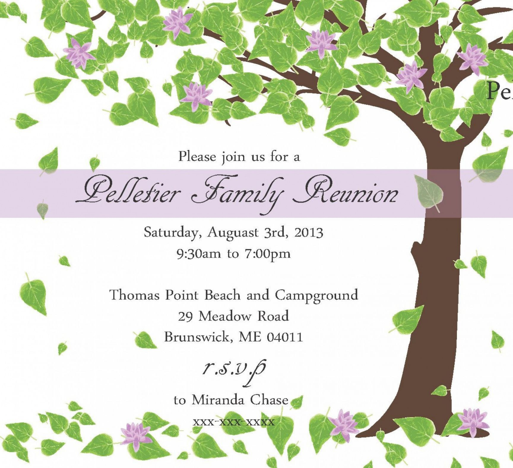 free free family reunion templates ~ addictionary family reunion banner template