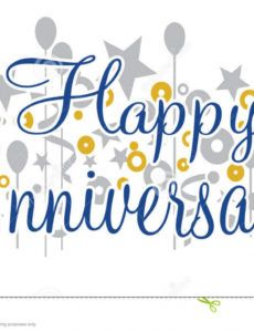 free happy anniversary banner stock vector illustration of happy anniversary banner template example