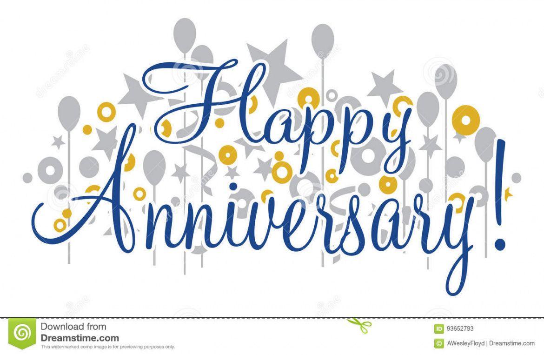 free happy anniversary banner stock vector illustration of happy anniversary banner template example