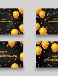happy anniversary banner template happy anniversary banner template