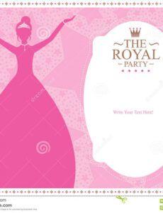 princess template card design stock vector  illustration of princess banner template example