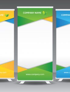 sample corporate roll up banner template  download free vectors name banner template pdf