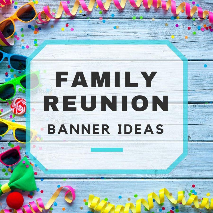 sample download gratis contoh design banner family gathering full family reunion banner template