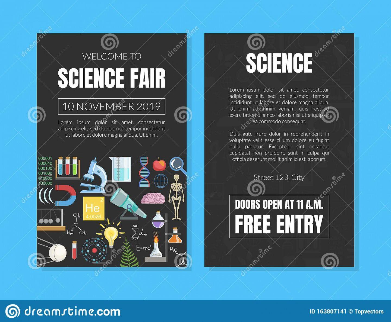 sample science fair banner stock illustrations  185 science fair science fair banner template pdf