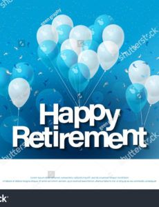 sample template retirement banner template happy retirement retirement banner template example