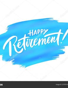 sample template retirement banner template happy retirement retirement banner template excel
