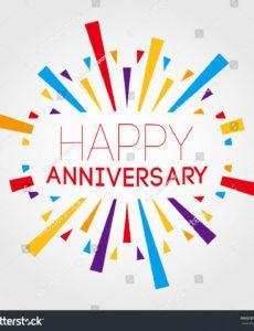 sample vector de stock libre de regalías sobre happy anniversary happy anniversary banner template word