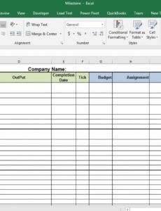 free business milestone and goal template  softwarehub ng change management post implementation review template excel