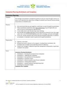 free evaluation budget template program evaluation proposal template pdf