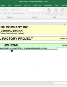 printable comprehensive excel template for project management change management post implementation review template example
