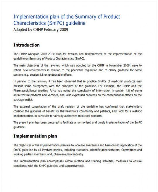 sample free 47 implementation plan examples & samples in pdf knowledge management implementation plan template doc