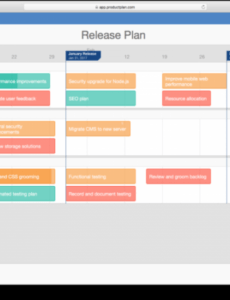 sample template software release plan template software release software release management template pdf
