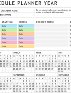 10 useful free project management templates for excel event management project plan template pdf