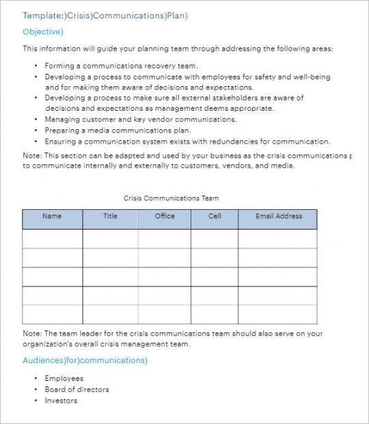 editable 20 communication plan templates free pdf ppt excel communication plan for change management template