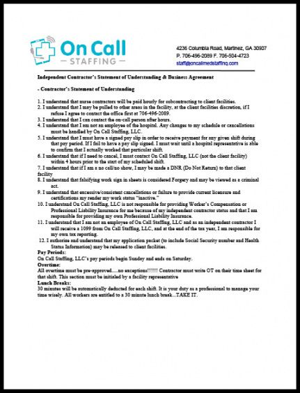 editable resources  on call medical staffing & in home care medical practice management agreement template doc