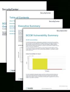 editable sccm patch management overview  sc report template  tenable® patch management plan template pdf