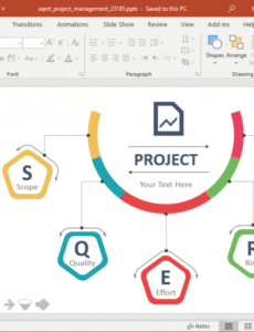 free animated sqert project management powerpoint template management review presentation template doc