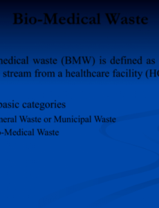 free download biomedical waste management ppt for free  page 4 medical waste management plan template example