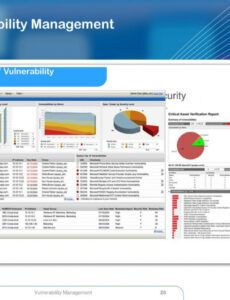 free ppt  vulnerability management powerpoint presentation vulnerability management program template word