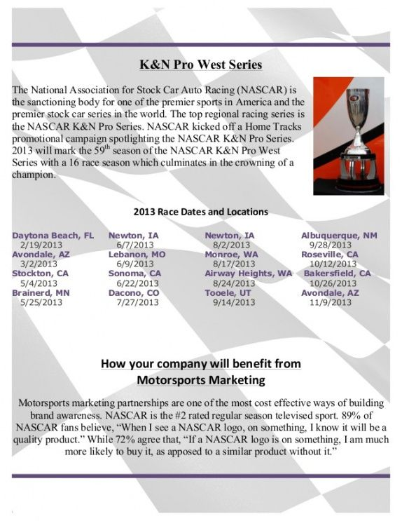 printable dirt track racing sponsorship proposal template auto racing sponsorship proposal template pdf