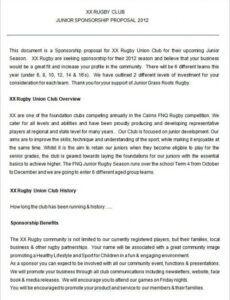 printable sponsorship proposal template  22 free word excel pdf auto racing sponsorship proposal template