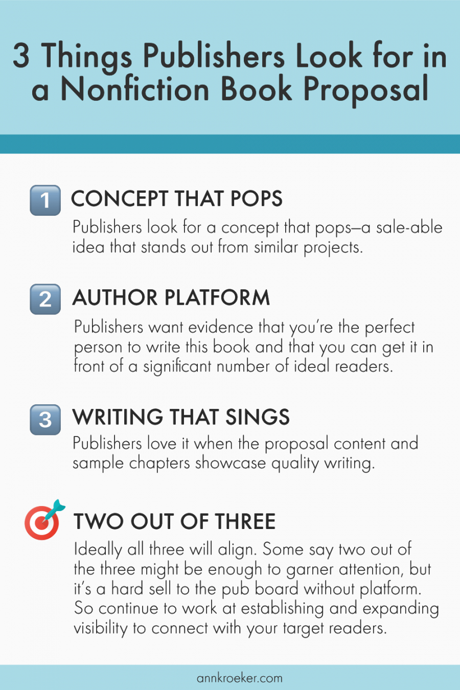 3 things publishers look for in a nonfiction book proposal nonfiction book proposal template