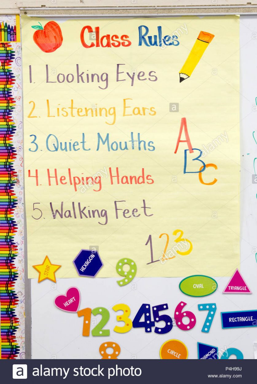 Classroom Rules Template