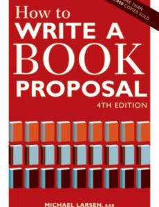 editable book proposal checklist and writing advice  writer's digest nonfiction book proposal template doc
