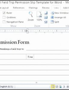 free 10 permission slip outline  sampletemplatess field trip proposal template