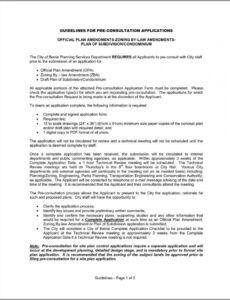 Free Condominium Rules And Regulations Template  Sample