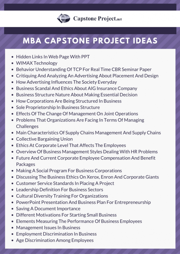 great capstone project ideas  get your personal best capstone project proposal template excel