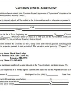 Costum Tenant House Rules Template Excel Example