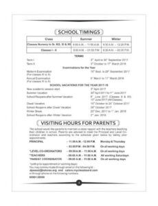 Printable School Rules And Regulations Template Word Example