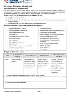 free classroom management plan  38 templates & examples classroom behavior management plan template