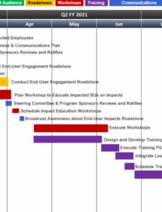 printable change management roadmap template it change management template pdf