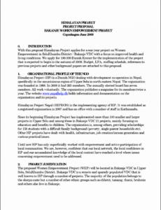 editable 7 job proposal design  sampletemplatess  sampletemplatess job sharing proposal template