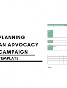 editable advocacy campaign template  i speak comms advocacy proposal template word