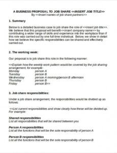 free 13 sample business proposal forms in ms word  pages new job position proposal template pdf