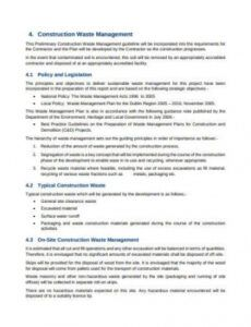 free free 17 construction management plan samples in pdf water management plan template word