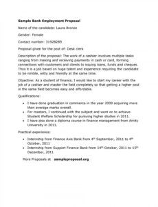 new position proposal template ~ addictionary new job position proposal template pdf