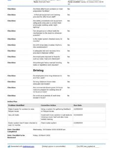 printable fatigue management strategies here's the best strategies fatigue management program template