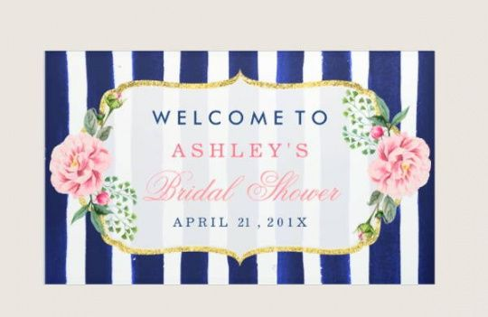 editable 8 diy party banners  design templates  free & premium bridal shower banner template