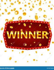 editable winner frame label banner template win congratulations congratulations banner template