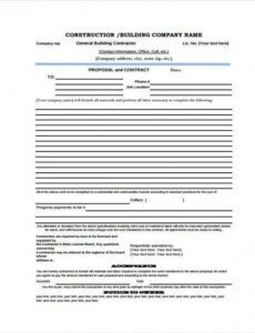 free 9 proposal contract templates  pdf doc  free & premium proposal contract template excel