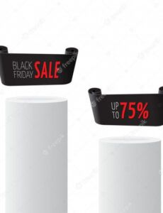 sample black realistic curved paper banner  premium vector curved banner template pdf