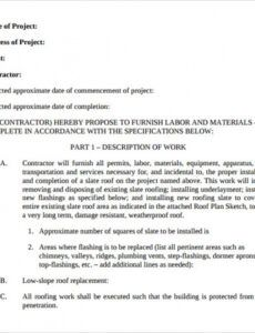 sample contract proposal template  template business proposal contract template example