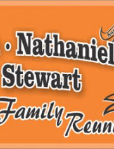 sample custom printed outdoor banners  family reunion stuff family reunion banner template example