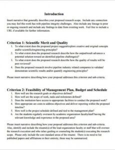 technical proposal template  19 free word excel pdf narrative proposal template